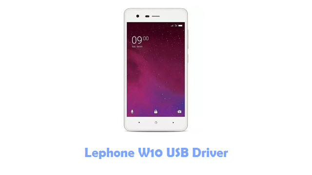Download Lephone W10 USB Driver