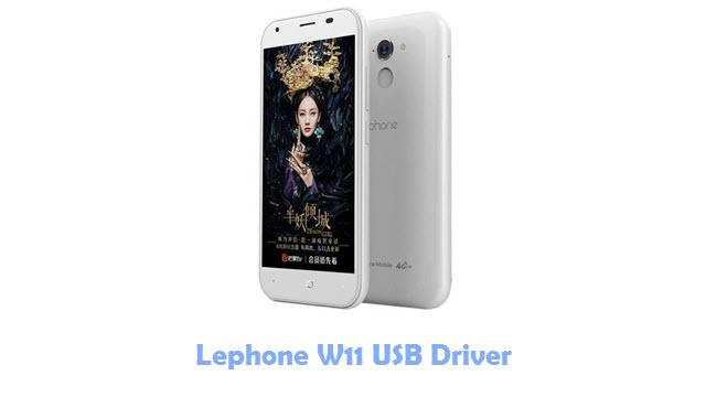 Download Lephone W11 USB Driver