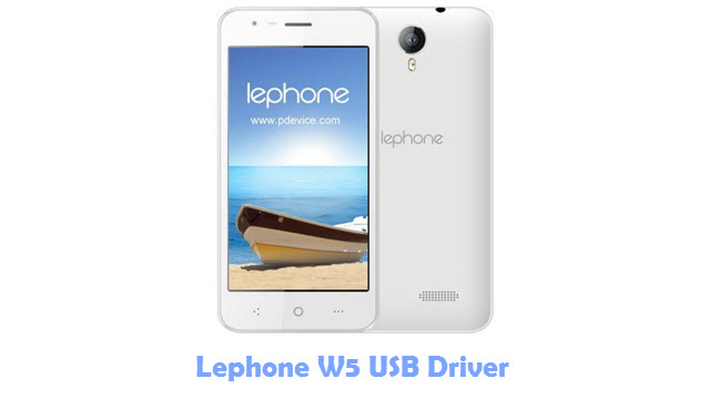 Download Lephone W5 USB Driver