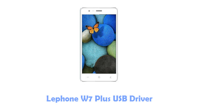 Download Lephone W7 Plus USB Driver