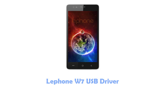 Download Lephone W7 USB Driver