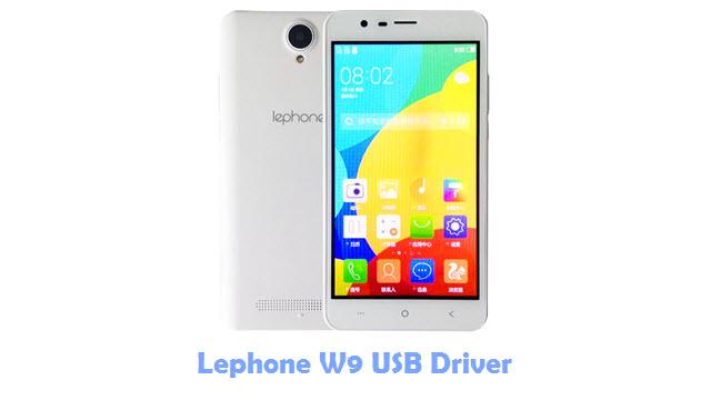 Lephone W9 USB Driver
