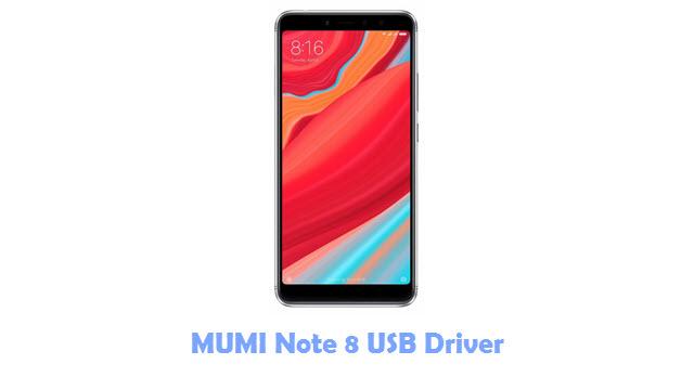MUMI Note 8 USB Driver