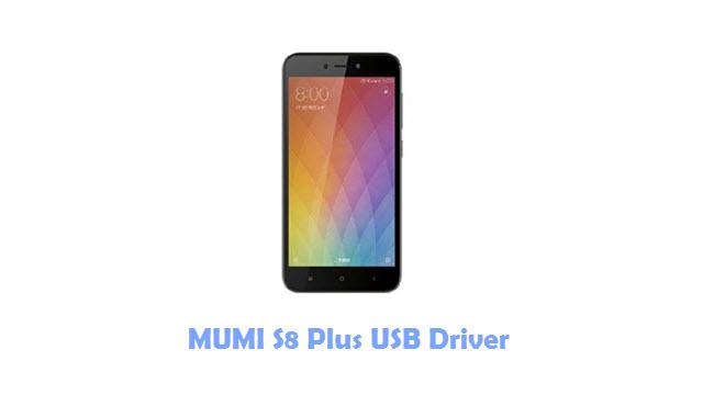 MUMI S8 Plus USB Driver