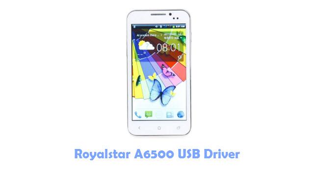Download Royalstar A6500 USB Driver