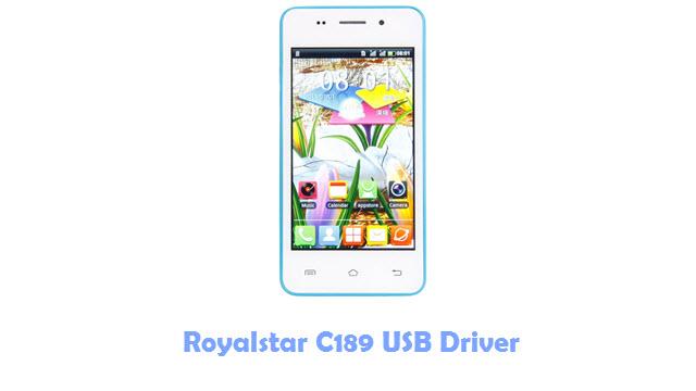 Download Royalstar C189 USB Driver