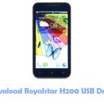 Download Royalstar H200 USB Driver