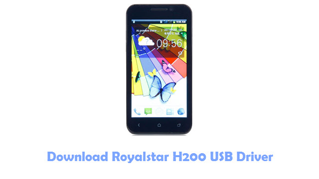Download Royalstar H200 USB Driver