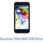 Download Royalstar H518 M3X USB Driver