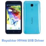 Download Royalstar HY918 USB Driver