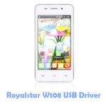 Download Royalstar W108 USB Driver