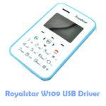 Download Royalstar W109 USB Driver