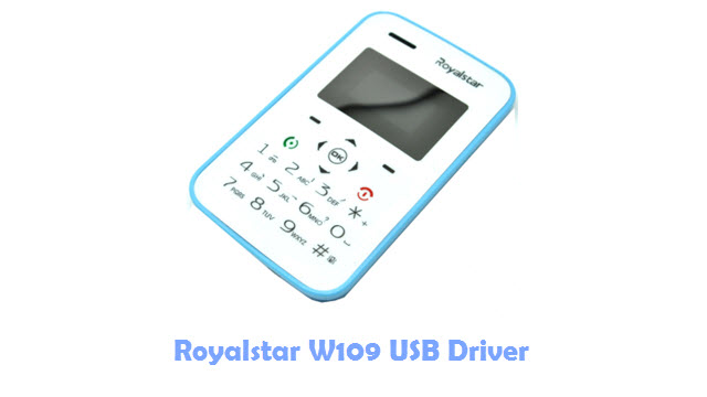 Download Royalstar W109 USB Driver