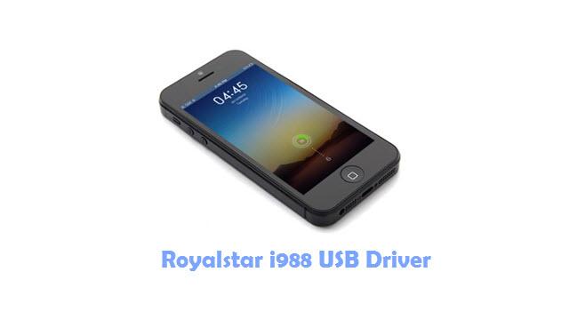 Download Royalstar i988 USB Driver