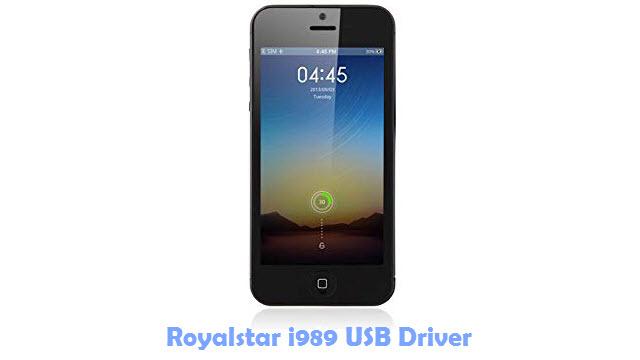 Download Royalstar i989 USB Driver