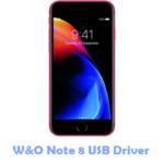 W&O Note 8 USB Driver