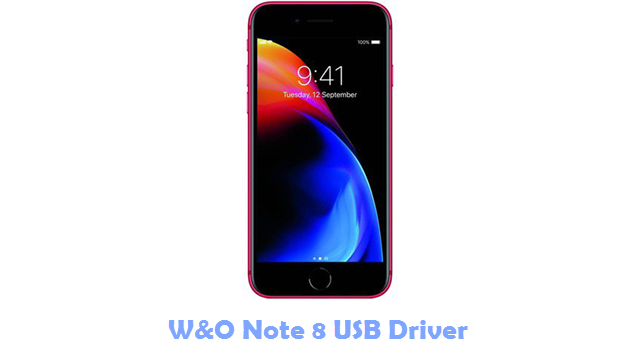 Download W&O Note 8 USB Driver