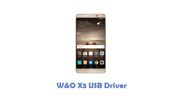 Download W&O X3 USB Driver