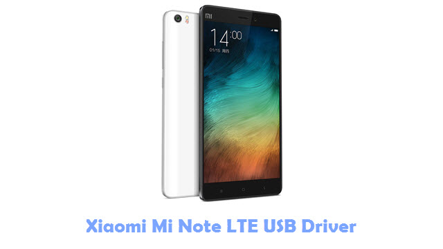 Xiaomi Mi Note LTE USB Driver