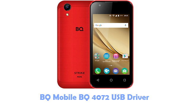 Download BQ Mobile BQ 4072 USB Driver
