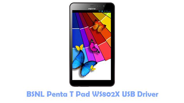 BSNL Penta T Pad WS802X USB Driver
