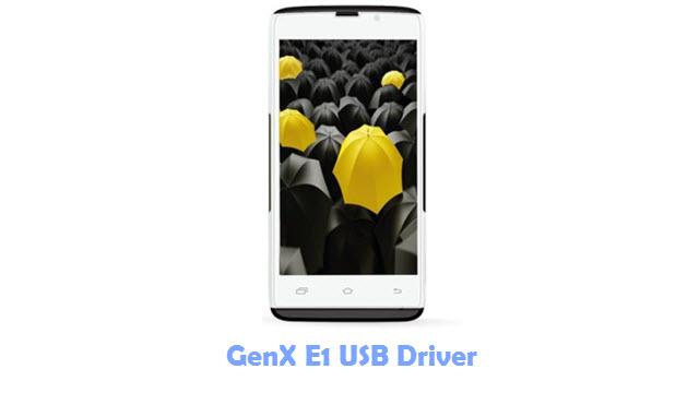 Download GenX E1 USB Driver