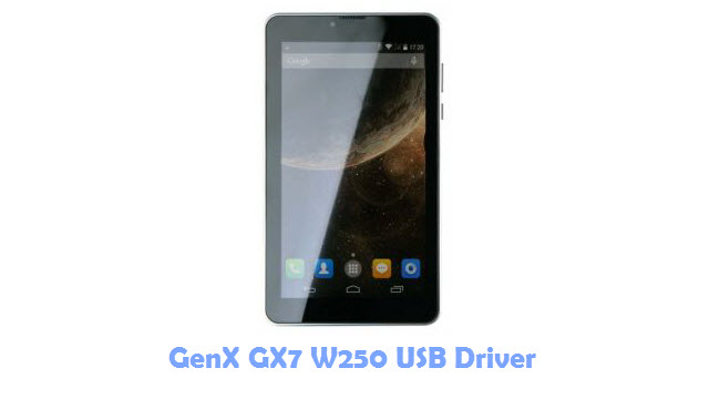 Download GenX GX7 W250 USB Driver