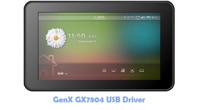 Download GenX GX7804 USB Driver