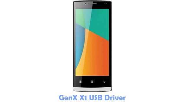 Download GenX X1 USB Driver