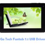Download Go Tech Funtab 7.1 USB Driver