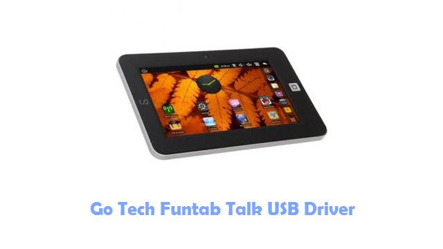 Go Tech Funtab Talk USB Driver