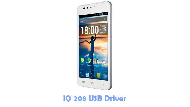 Download IQ 208 USB Driver