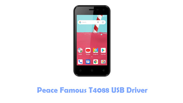 Download Peace Famous T4088 USB Driver