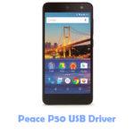 Peace P50 USB Driver