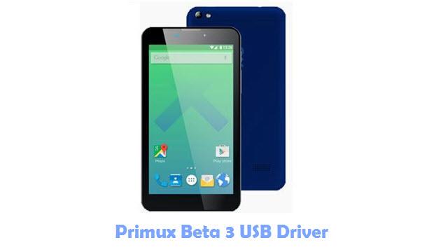 Primux Beta 3 USB Driver