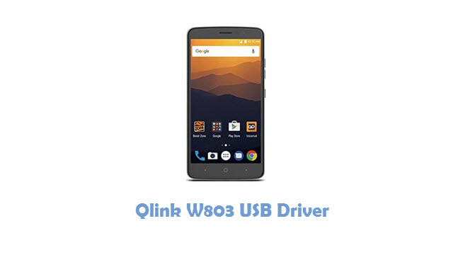 Qlink W803 USB Driver