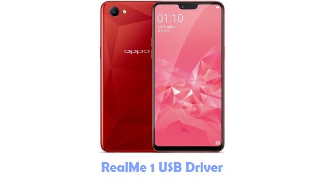 RealMe 1 USB Driver