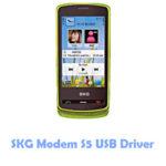 Download SKG Modem S5 USB Driver