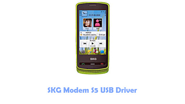 Download SKG Modem S5 USB Driver