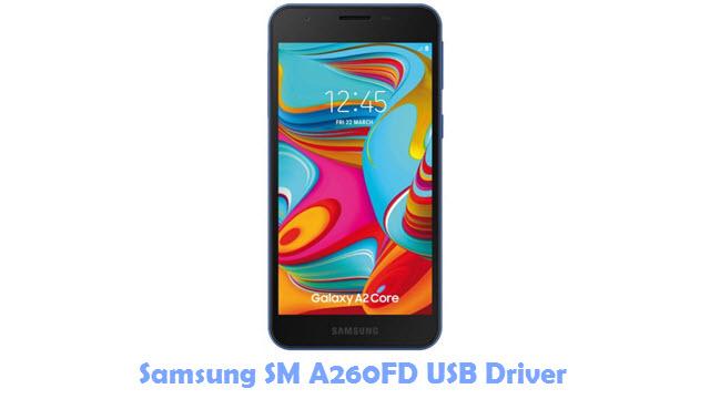 Download Samsung SM A260FD USB Driver