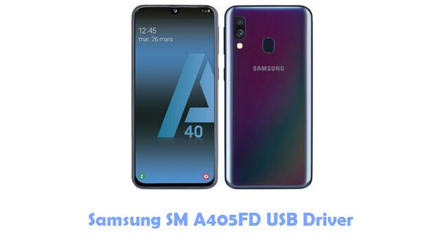 Download Samsung SM A405FD USB Driver