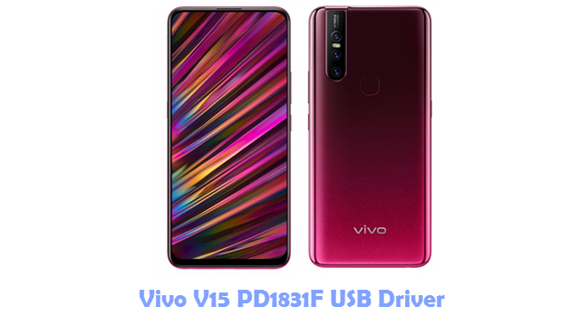 Download Vivo V15 PD1831F USB Driver