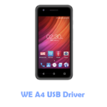 Download WE A4 USB Driver