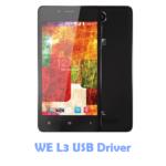 Download WE L3 USB Driver