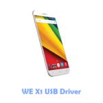 Download WE X1 USB Driver