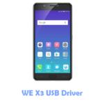 Download WE X3 USB Driver