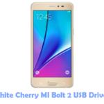 Download White Cherry MI Bolt 2 USB Driver