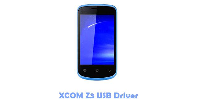XCOM Z3 USB Driver