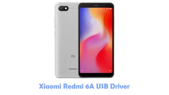 Download Xiaomi Redmi 6A USB Driver