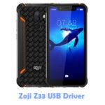 Download Zoji Z33 USB Driver